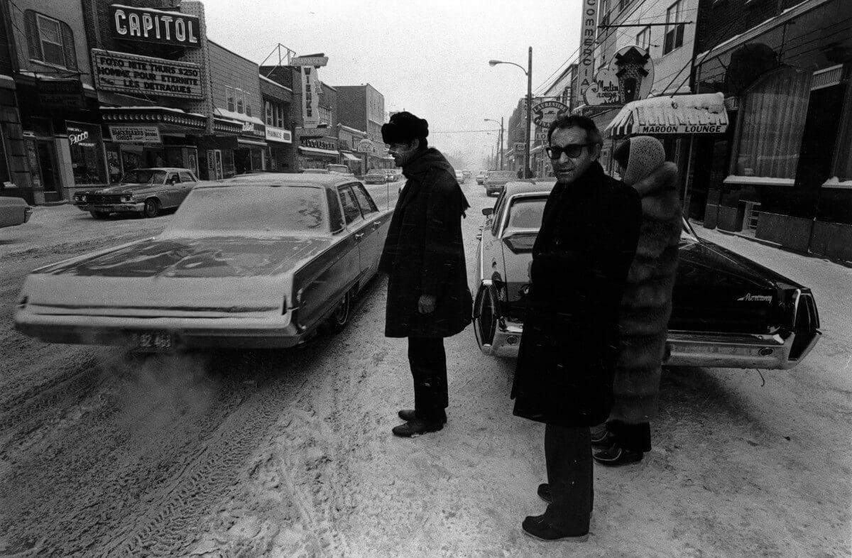Mai en décembre : Godard en Abitibi (2000)